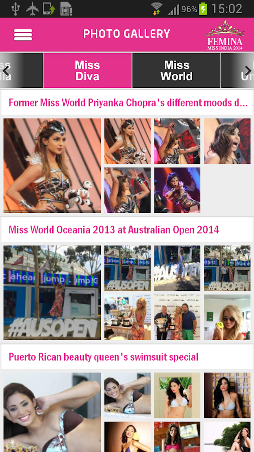 Miss India- screenshot