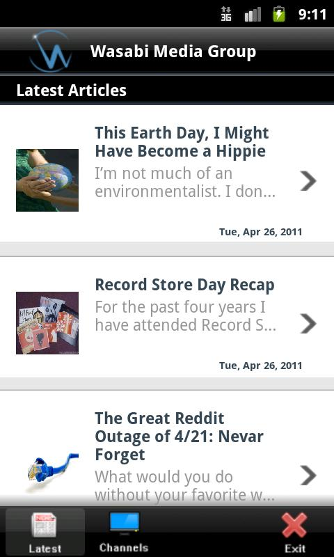 WMG Reader - screenshot
