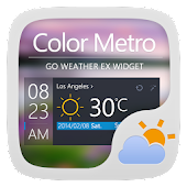 COLORMETRO THEME GO WEATHER EX