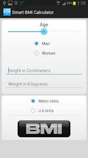 Smart BMI Calculator - screenshot thumbnail