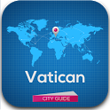 Vatican Guide, Map, Hotels icon