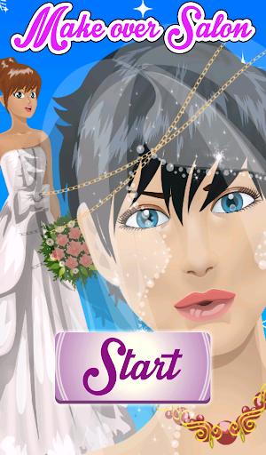 Brides Dress and Make Up
