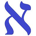 Alef Bet in Hebrew icon
