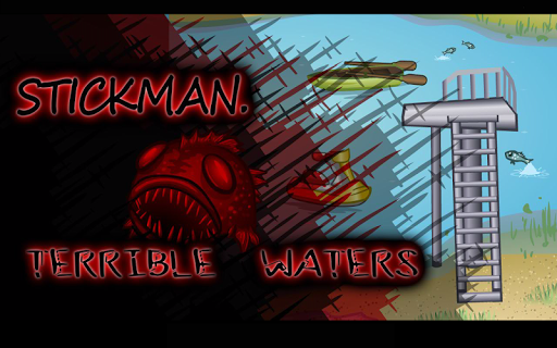 Stickman Terrible Waters