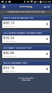 El Dorado Savings Bank Mobile- screenshot thumbnail