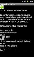 Screenshot of Economia aziendale - appunti