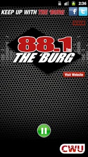 88.1 The 'Burg KCWU-FM - screenshot thumbnail