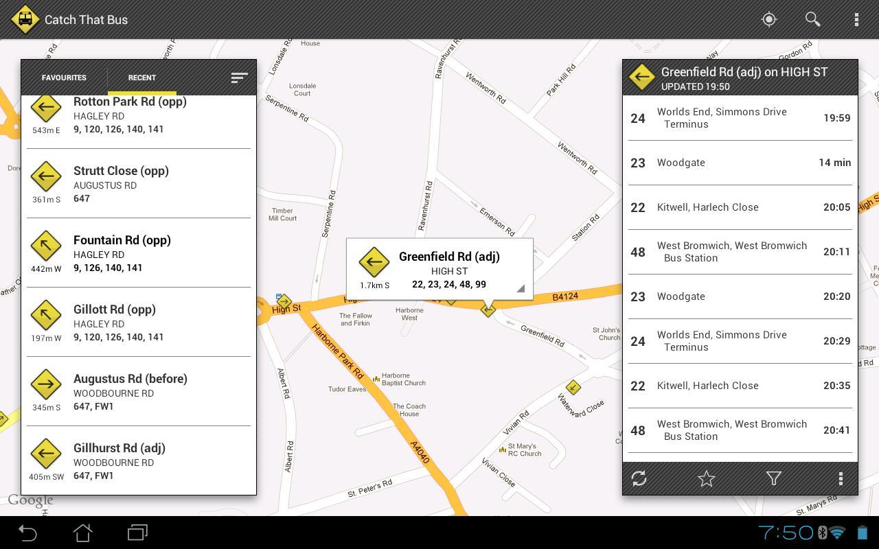 UK Bus Times - Catch That Bus! - screenshot