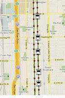 Screenshot of CTA Bus Tracker Pro