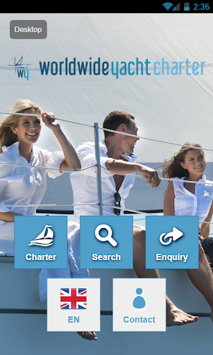 Worldwide Yacht Charter