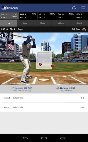 android MLB.com At Bat Screenshot 6