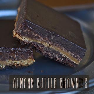 Gluten Free Almond Butter Brownies
