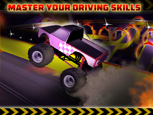 玩免費模擬APP|下載Monster Truck Stunts Simulator app不用錢|硬是要APP