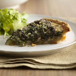 Healthy Veggie Quiche.