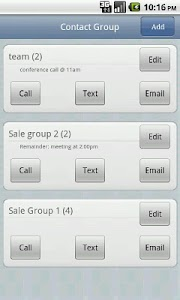 Contact Group screenshot 0
