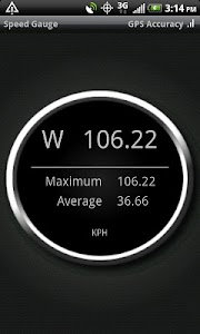 Speed Gauge screenshot 1