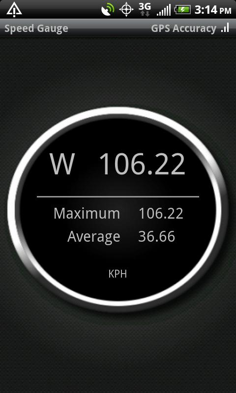 Speed Gauge- screenshot