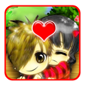 Cute Couple Go locker icon
