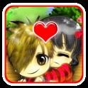 Cute Couple Go locker icon