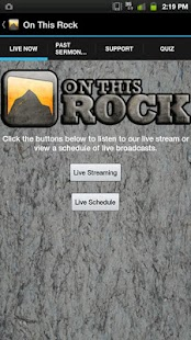 On This Rock- screenshot thumbnail
