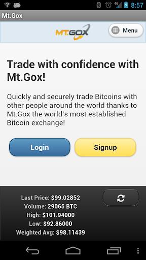 Mt.Gox Mobile