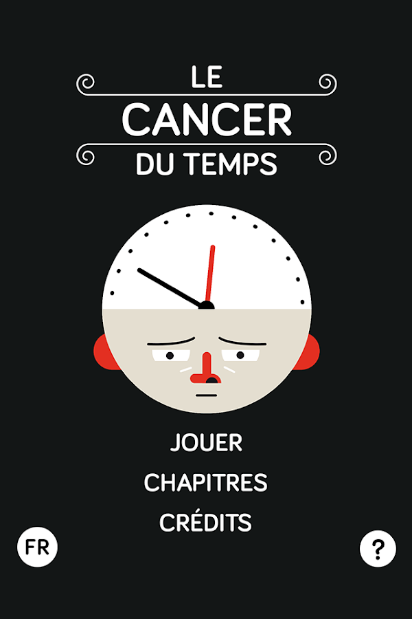 Le cancer du temps – Capture d'écran