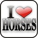 I Love Horses doo-dad logo