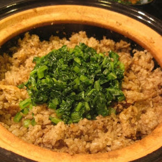 "Donabe Gobo Gohan...my favorite ""dirty"" rice"