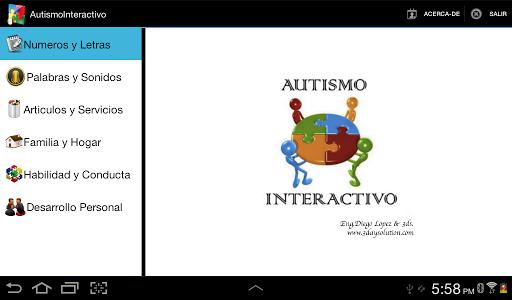 Autismo Interactivo
