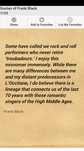 Quotes of Frank Black