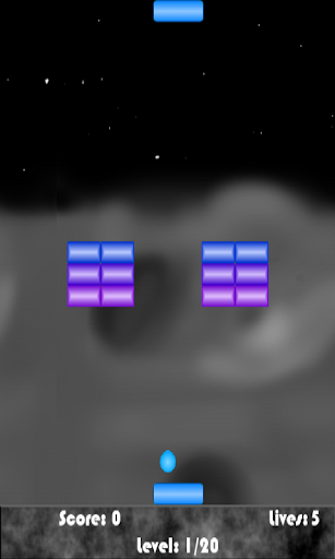 【免費街機App】Space Paddle Ball-APP點子