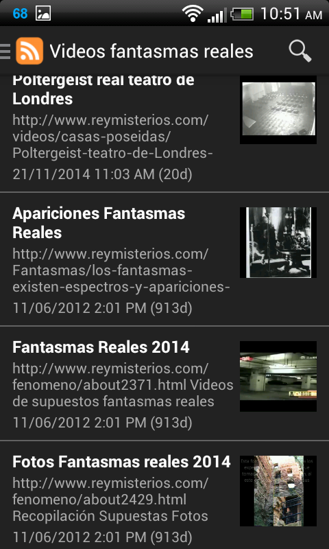 Fantasmas reales- screenshot