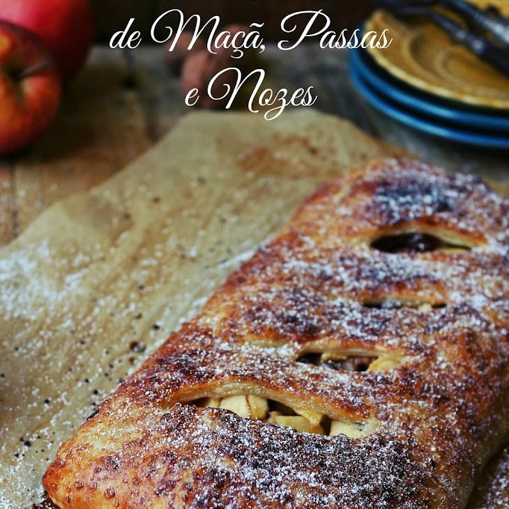 Apple, Walnut, and Port Wine Strudel Recipe