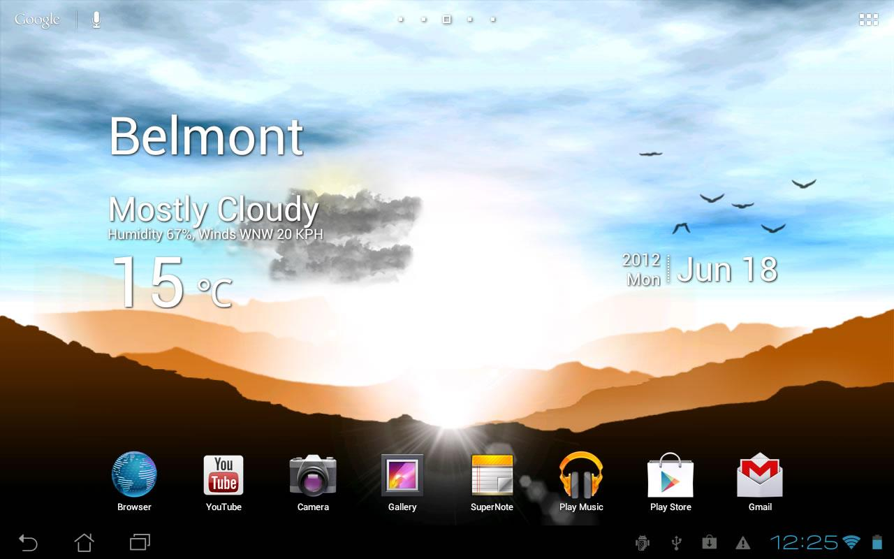 Sunrise Pro Live WP FREE - screenshot