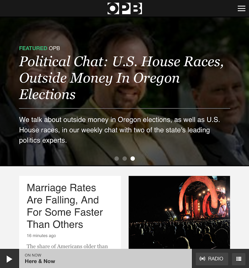 OPB News - screenshot