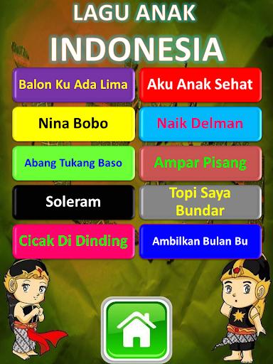 Lagu Anak Indonesia Terlengkap