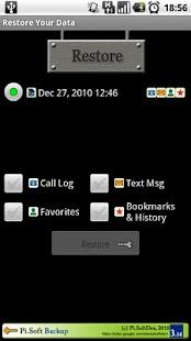 Pi.Soft Backup- screenshot thumbnail