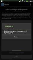 Screenshot of Silent Alarm Panic Button
