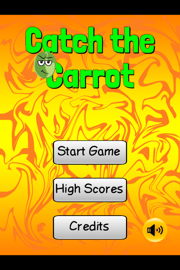 Catch the Carrot Kid Food Game- screenshot