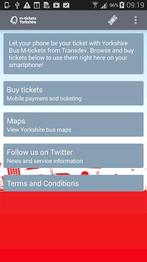 Yorkshire Bus M-tickets