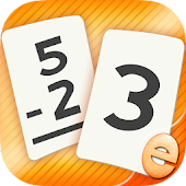 Subtraction Flash Card Kids