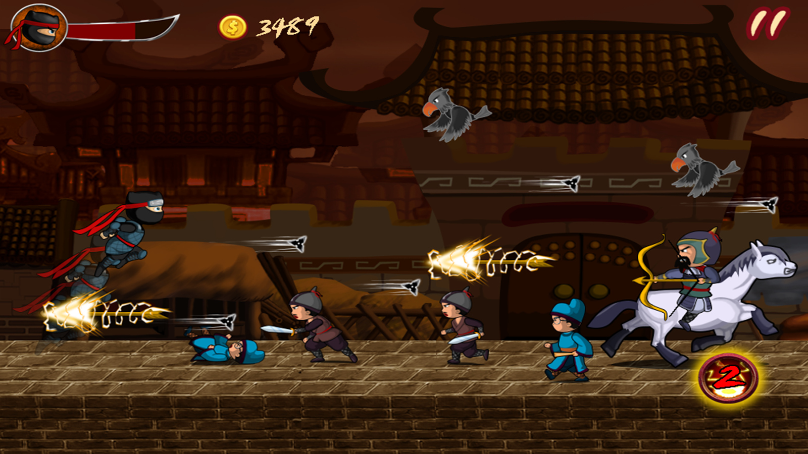 Ninja Hero The Super Battle Apl Android Di Google Play