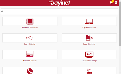Bayinet Mobile Application- screenshot thumbnail