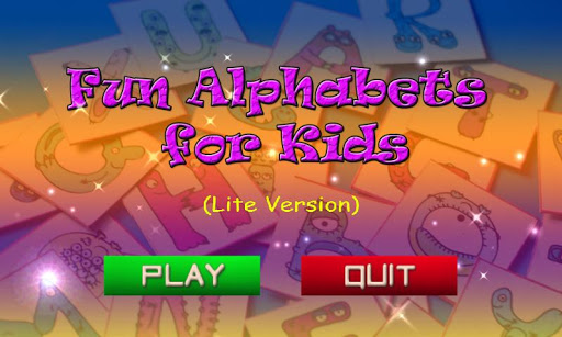 Fun Alphabets for Kids Lite