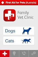 Screenshot of First Aid For Pets