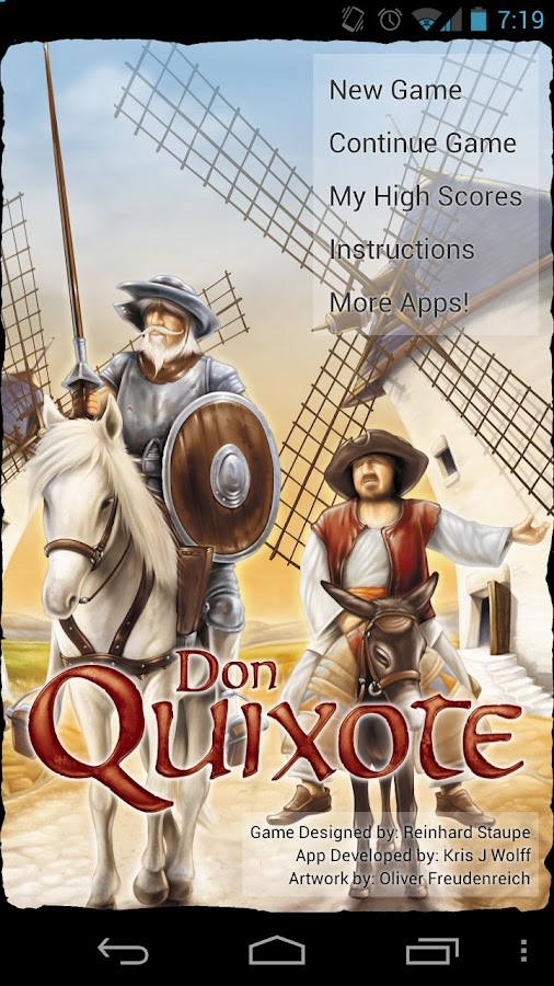 Don Quixote- screenshot