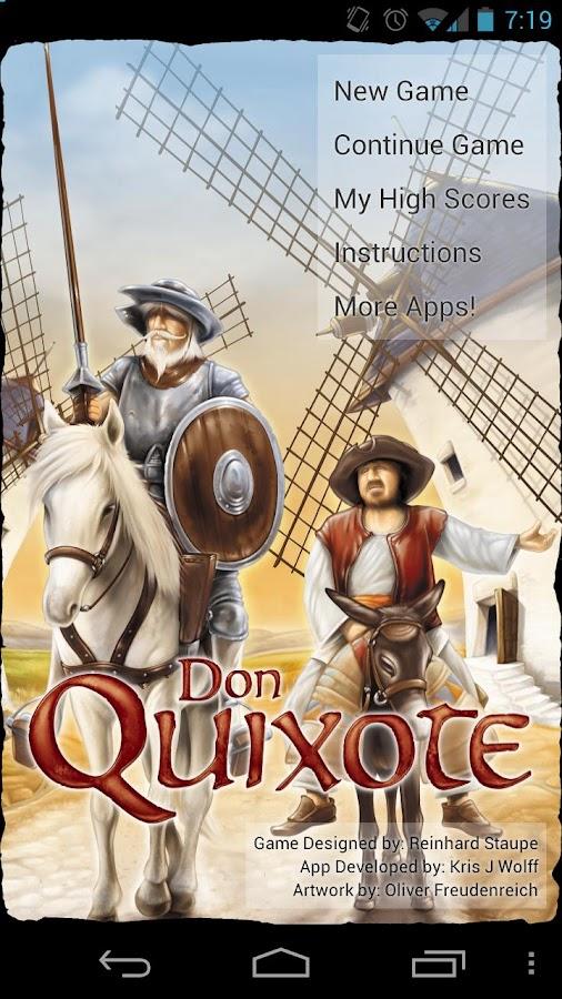 Don Quixote - screenshot
