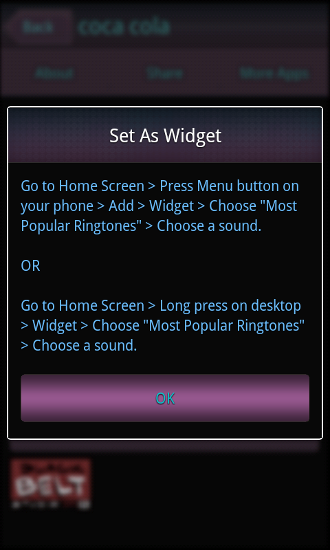 Most Popular Ringtones - screenshot
