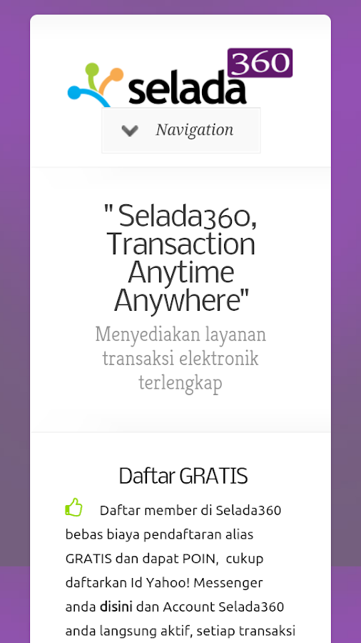 Selada360 - screenshot