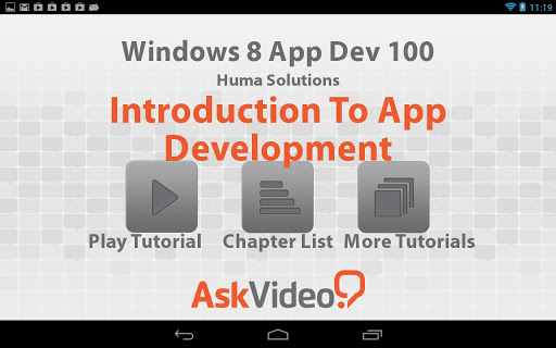 Windows 8 App Dev 100